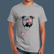 Adult Pit Bull 4th Tee