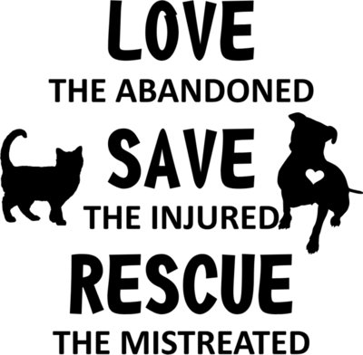 Love Save Rescue no red